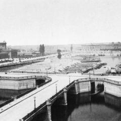 Die ehemalige Alsenbrücke und heutige Hugo-Preuß-Brücke