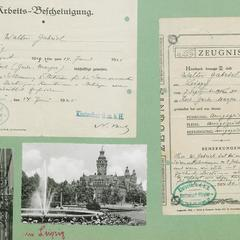 Erster Weltkrieg und erste Stationen in Berlin