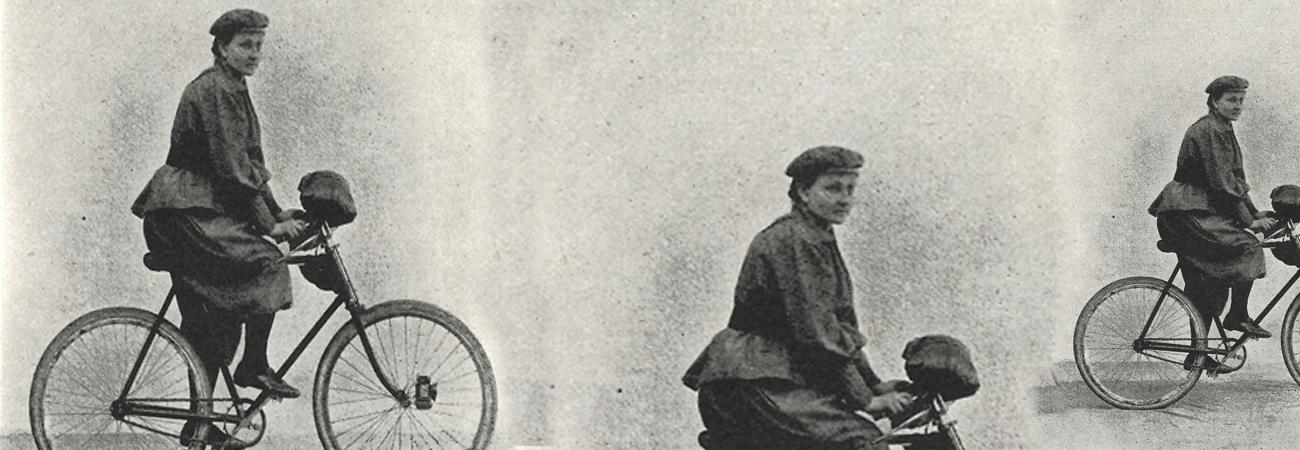 Eine Herrin ihrer Maschine: Die Fahrradpionierin Amalie Rother