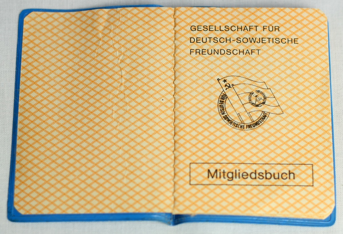 In der Brigade der Gesellschaft für Deutsch-Sowjetische Freundschaft (DSF)