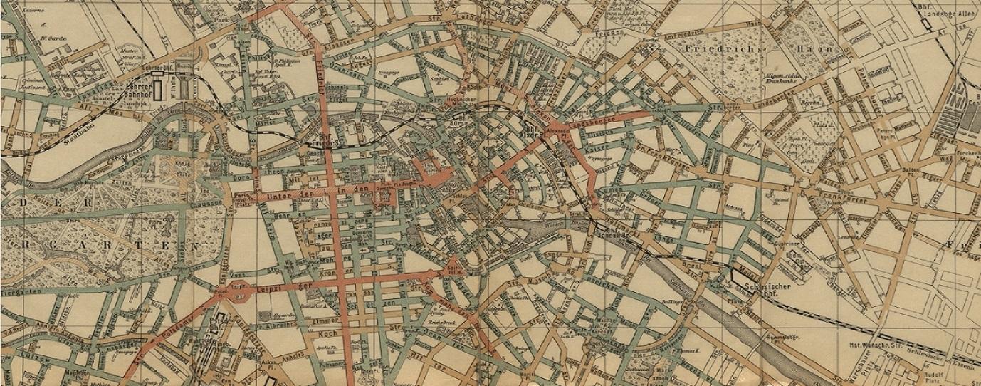 Navigation im Großstadtdschungel: Straubes Neuer Radfahrer-Plan von Berlin