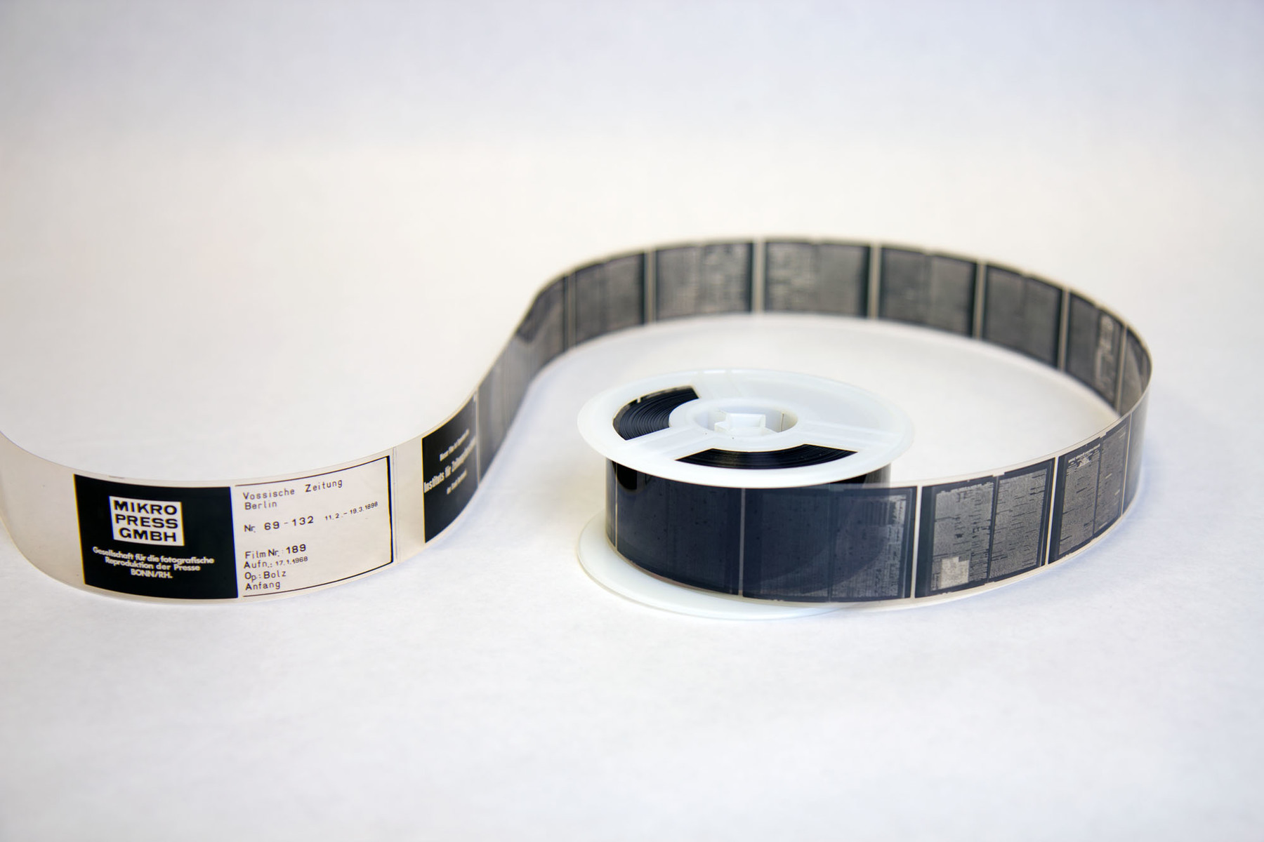 Ein kompaktes Archiv auf Mikrofilm