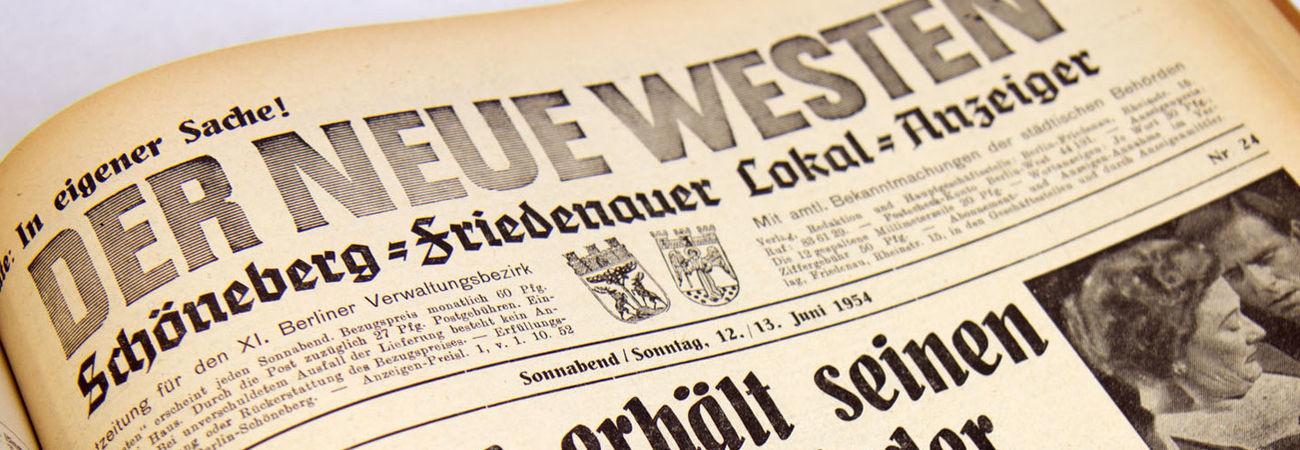Zeitungslesen in der BStB