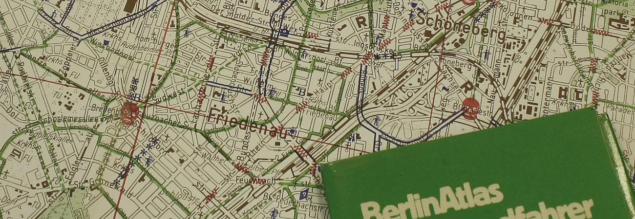 """Mehr als nur Radkarten: Die Berliner """"Totenkopf-Atlanten"""""""