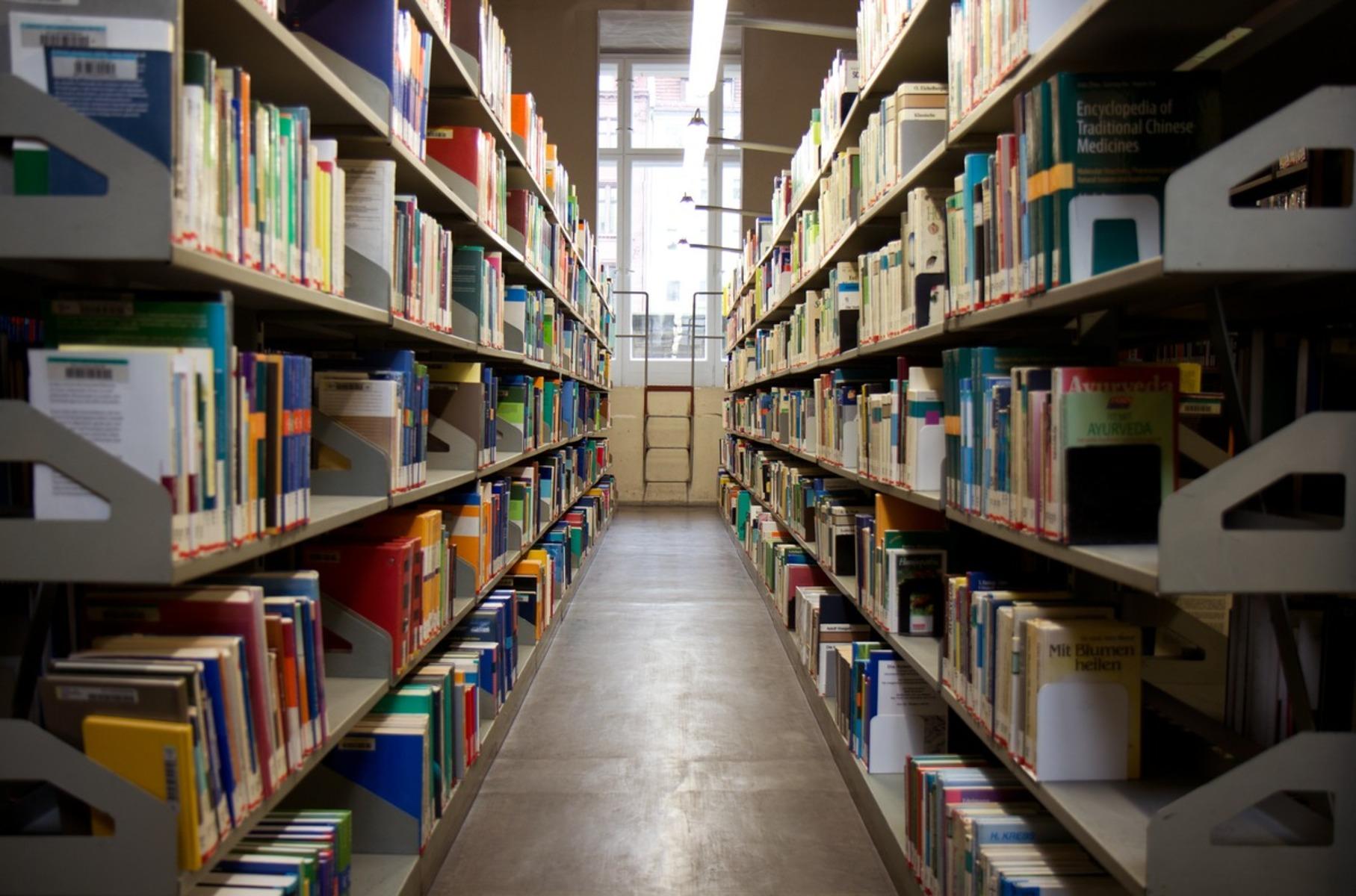 Magaziner an der Berliner Stadtbibliothek