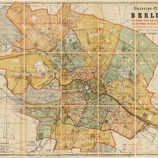 Neuester Plan von Berlin : mit den Königl. Preuss. Standes- und Amtsbezirks-Superintendentur- und Parochie-Grenzen