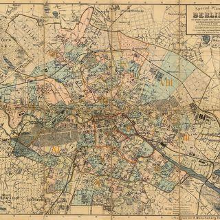 Special-Plan von Berlin : mit genauer Angabe der Polizeireviere und Hauptmannschaftsgrenzen ; nach amtlichem Material bearbeitet