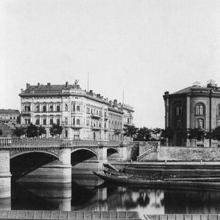 Moltkebrücke 1886