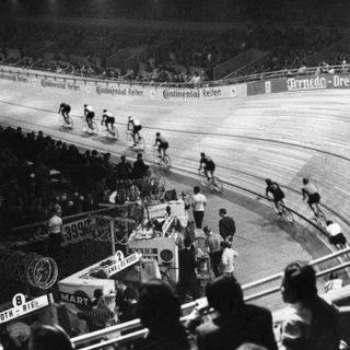 47. Berliner Sechstagerennen vom 07.10 bis 13.10.1960 in der Deutschlandhalle, Eichkamp (Charlottenburg)