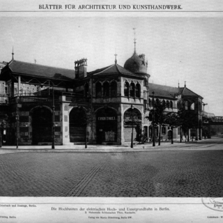 Hochbahnhof Schlesisches Tor (Nordseite)