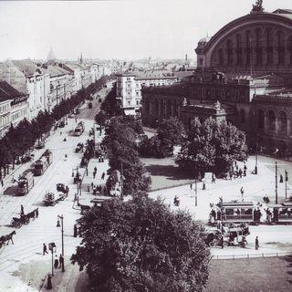 Anhalter Bahnhof und Askanische Platz um 1910