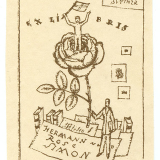 Exlibris Hermann und Rose Simon