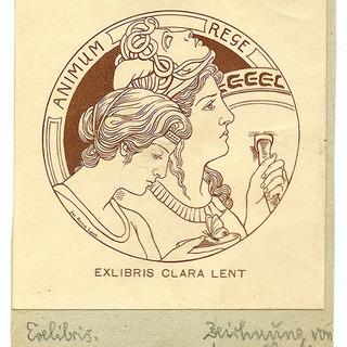 Exlibris Clara Lent