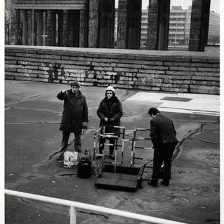 Telefonkabelverlegung zwischen West-Berlin und Ost-Berlin