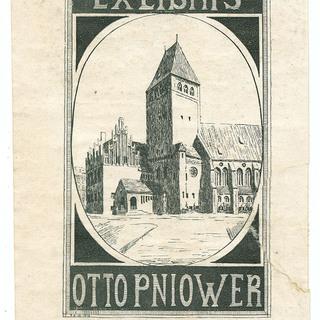 Exlibris Otto Pniower
