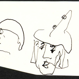 Zeichnungen inspiriert von Marcel Marceau