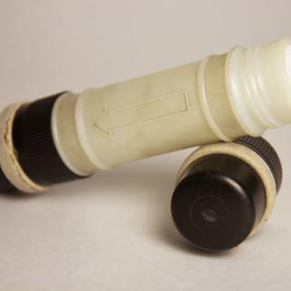 Kapsel einer Rohrpostanlage