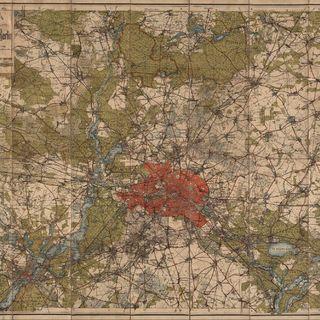 Kiessling's grosse Special-Karte der Umgegend von Berlin