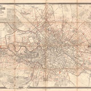 Situations-Plan von Berlin mit dem Weichbilde und Charlottenburg