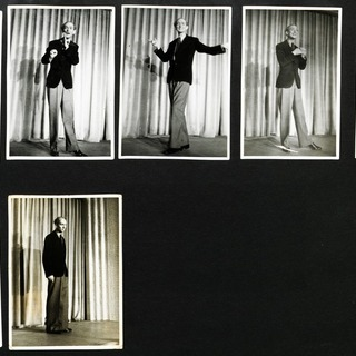 Bildsequenz von Herbert Weißbach im Kabarett der Komiker