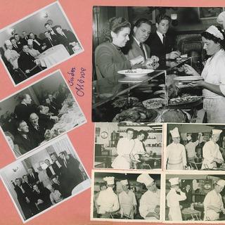 """Fotografien vom Künstlerklub """"Die Möwe"""" 1948-1950"""