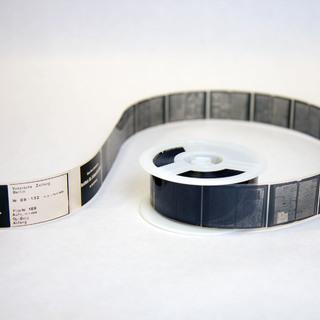 Herr Klemm zu Mikrofilmen