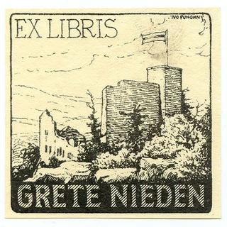 Exlibris Grete Nieden