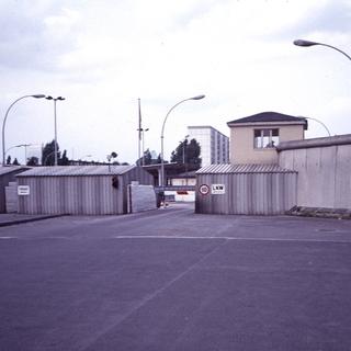 Grenzübergang Heinrich-Heine-Straße