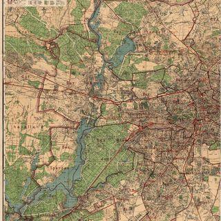 Silva-Übersichtsplan von der Stadt Berlin und ihren 20 Verwaltungsbezirken : auf Grund des Gesetzes vom 27. April 1920