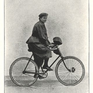 """Frau A. Rother – Berlin. """"Auf der Tour."""""""