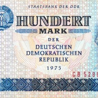 Banknote: Hundert Mark der Deutschen Demokratischen Republik