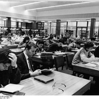 Berlin, Stadtbibliothek, Lesesaal