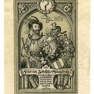 Exlibris Fedor von Zobelitz-Spiegelberg