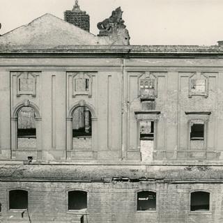 Hoffassade des Spreeflügels 1947, Berliner Stadtbibliothek