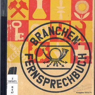 Branchen-Fernsprechbuch für die Hauptstadt der Deutschen Demokratischen Republik Berlin