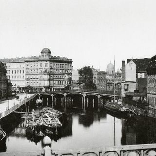 Weidendammer Brücke 1881