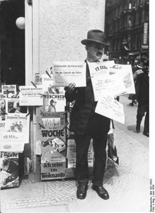 Berliner Zeitungsverkäufer