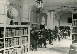 Voller Lesesaal, Berliner Stadtbibliothek