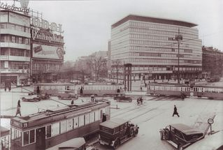 Potsdamer Platz mit Columbiahaus