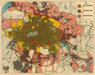 Karte von Gross-Berlin