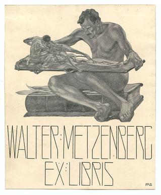 Exlibris Walter Metzenberg