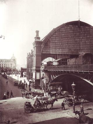Bahnhof Friedrichstraße 1898