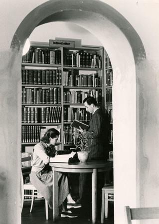 Teilansicht Lesesaal, Berliner Stadtbibliothek