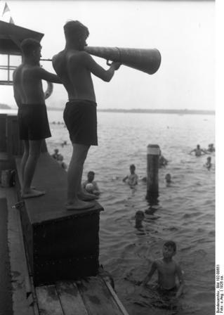 Rettungsschwimmer, Strandbad Wannsee
