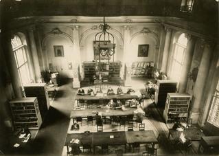 Lesesaal im Marstall Hauptgebäude, Stadtbibliothek Berlin