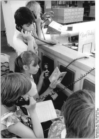 Berlin, öffentliche Bibliothek, Phonothek