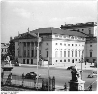 Die Deutsche Staatsoper Berlin.